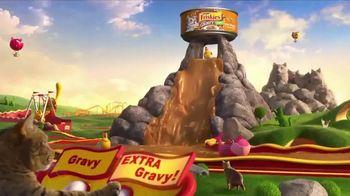 Friskies Extra Gravy Pate and Chunky TV Spot, 'Friskies World' - Thumbnail 4