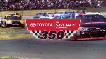 Sonoma Raceway TV Spot, '2018 Toyota Save Mart 350: It's Back' - Thumbnail 4