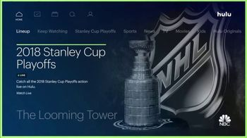 Hulu TV Spot, '2018 Stanley Cup Playoffs' - 1 commercial airings