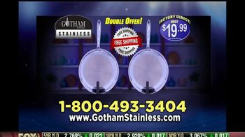 Gotham Steel Stainless TV Spot, 'Strong & Durable' Featuring Daniel Green - Thumbnail 10
