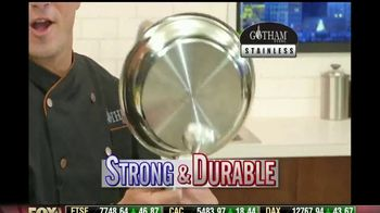 Gotham Steel Stainless TV Spot, 'Strong & Durable' Featuring Daniel Green - Thumbnail 2