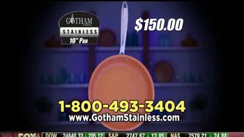 Gotham Steel Stainless TV Spot, 'Strong & Durable' Featuring Daniel Green - Thumbnail 8