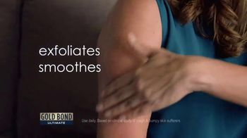 Gold Bond Ultimate Rough & Bumpy Skin TV Spot, 'Softens and Smooths' - Thumbnail 5