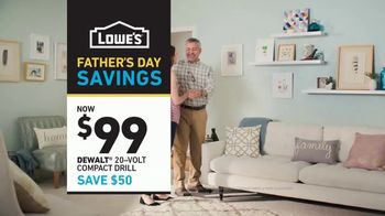 Lowe's Father's Day Savings TV Spot, 'The Moment: Dad's Tools' - Thumbnail 10