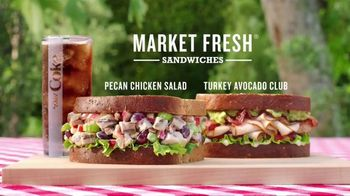 Arby's Market Fresh Sandwiches TV Spot, 'Picnic' - Thumbnail 8