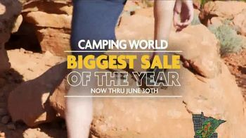 Camping World Biggest Sale of the Year TV Spot, 'Camp in Style' - Thumbnail 2