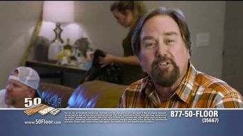 50 Floor TV Spot, 'Pigs Are Tough on Floors' Featuring Richard Karn