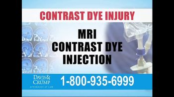 Davis & Crump, P.C. TV Spot, 'Contrast Dye Injury' - Thumbnail 3