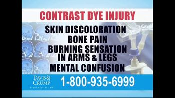 Davis & Crump, P.C. TV Spot, 'Contrast Dye Injury' - Thumbnail 4