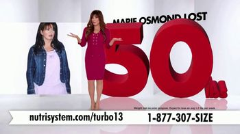 Nutrisystem Turbo 13 TV Spot, 'Weighing You Down: FedEx' Ft. Marie Osmond - 243 commercial airings