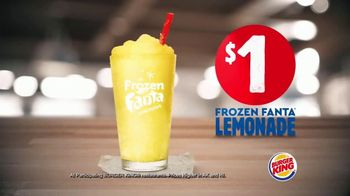 Burger King Frozen Fanta Lemonade TV Spot, 'Cool Down'