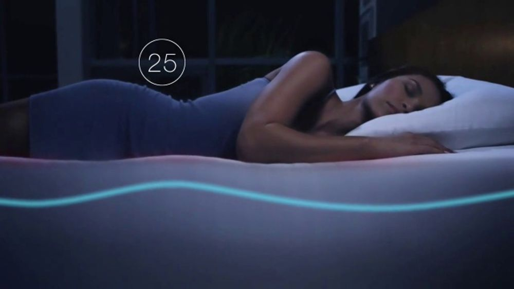 Sleep Number 360 Smart Bed TV Commercial, 'Checking In'