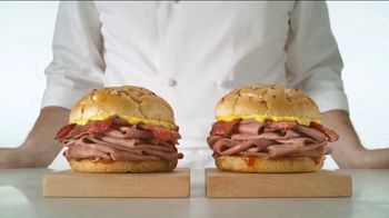 Arby's Bacon Beef 'N Cheddar TV Spot, 'Better Better Same' - Thumbnail 6