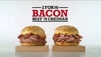 Arby's Bacon Beef 'N Cheddar TV Spot, 'Better Better Same' - Thumbnail 9