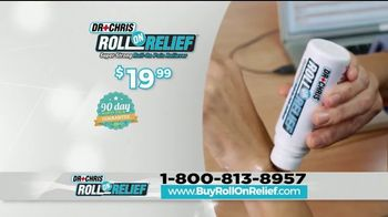 Dr. Chris Roll On Relief TV Spot, 'Erase Your Pain' - Thumbnail 8