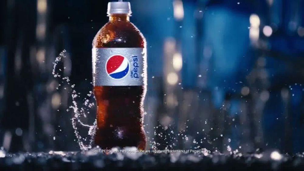 Diet Pepsi TV Commercial, 'Light, Crisp, Refreshing: Bottle'