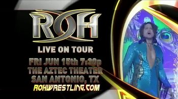 ROH Wrestling Live On Tour TV Spot, '2018 Best in the World'