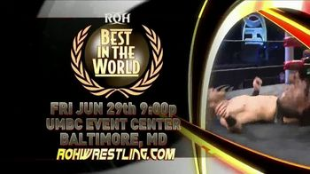 ROH Wrestling Live On Tour TV Spot, '2018 Best in the World' - Thumbnail 5