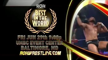 ROH Wrestling Live On Tour TV Spot, '2018 Best in the World' - Thumbnail 6