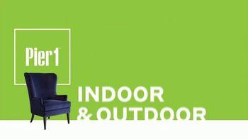 Pier 1 Imports Indoor & Outdoor Furniture Sale TV Spot, 'Get Comfy' - Thumbnail 2