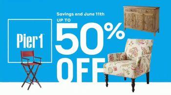 Pier 1 Imports Indoor & Outdoor Furniture Sale TV Spot, 'Get Comfy' - Thumbnail 8