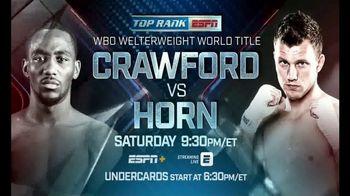 ESPN+ TV Spot, 'Top Rank: Crawford vs. Horn' Song by A$AP Ferg - Thumbnail 6