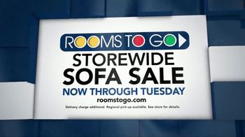 Rooms to Go Storewide Sofa Sale TV Spot, 'Every Sofa in the Showroom' - Thumbnail 10