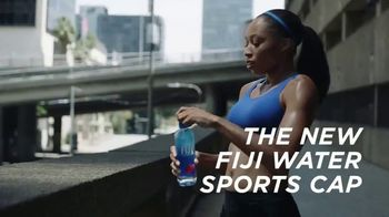 FIJI Water Sports Cap TV Spot, 'Heaven' Featuring Allyson Felix - Thumbnail 9
