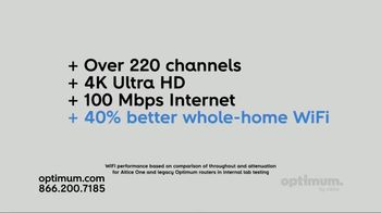 Optimum Altice One TV Spot, 'Netflix for One Year' - Thumbnail 2