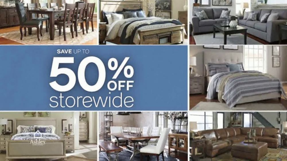 Ashley Homestore Semi Annual Clearance Event Tv Commercial Every