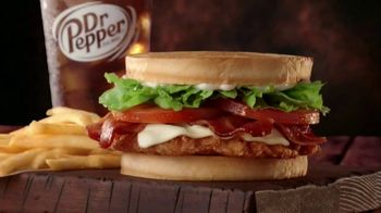 Jack in the Box Spicy Chicken Club Combo TV Spot, 'Tickle My Elbow' - Thumbnail 1