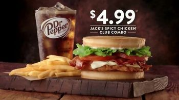 Jack in the Box Spicy Chicken Club Combo TV Spot, 'Tickle My Elbow' - Thumbnail 5
