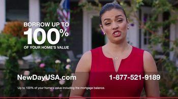 NewDay USA TV Spot, 'Tatiana: 100 VA Loan'