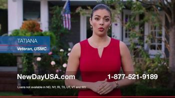 NewDay USA TV Spot, 'Tatiana: 100 VA Loan' - Thumbnail 2