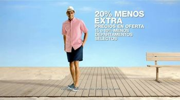 Macy's Venta de Verano TV Spot, 'Zapatos, cama y baño' [Spanish] - Thumbnail 2