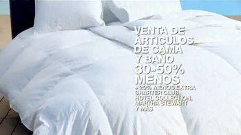 Macy's Venta de Verano TV Spot, 'Zapatos, cama y baño' [Spanish] - Thumbnail 7