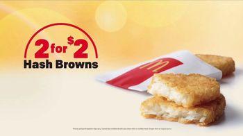 McDonald's 2 for $4 Breakfast Sandwiches TV Spot, 'Add Hash Browns' - Thumbnail 5