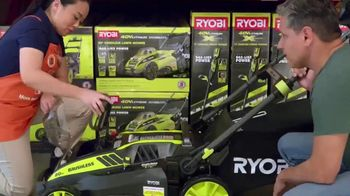 The Home Depot TV Spot, 'Cut the Cord: Ryobi Blower and EGO Trimmer' - Thumbnail 4