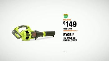 The Home Depot TV Spot, 'Cut the Cord: Ryobi Blower and EGO Trimmer' - Thumbnail 8