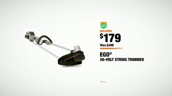 The Home Depot TV Spot, 'Cut the Cord: Ryobi Blower and EGO Trimmer' - Thumbnail 9