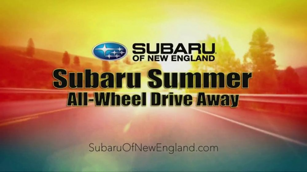 Subaru Summer All Wheel Drive Away Tv Commercial Summer Song T2