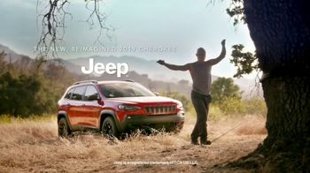 2019 Jeep Cherokee TV Spot, 'Training in Trees' Featuring Kevin Bull [T1] - Thumbnail 9