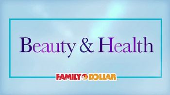 Family Dollar TV Spot, 'New Beauty and Health Aisle'
