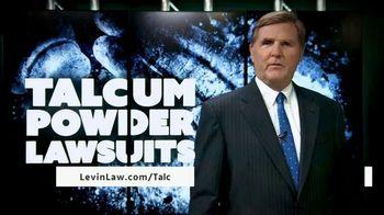 Levin Law TV Spot, 'Talcum Powder' - Thumbnail 1