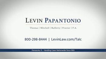Levin Law TV Spot, 'Talcum Powder' - Thumbnail 6