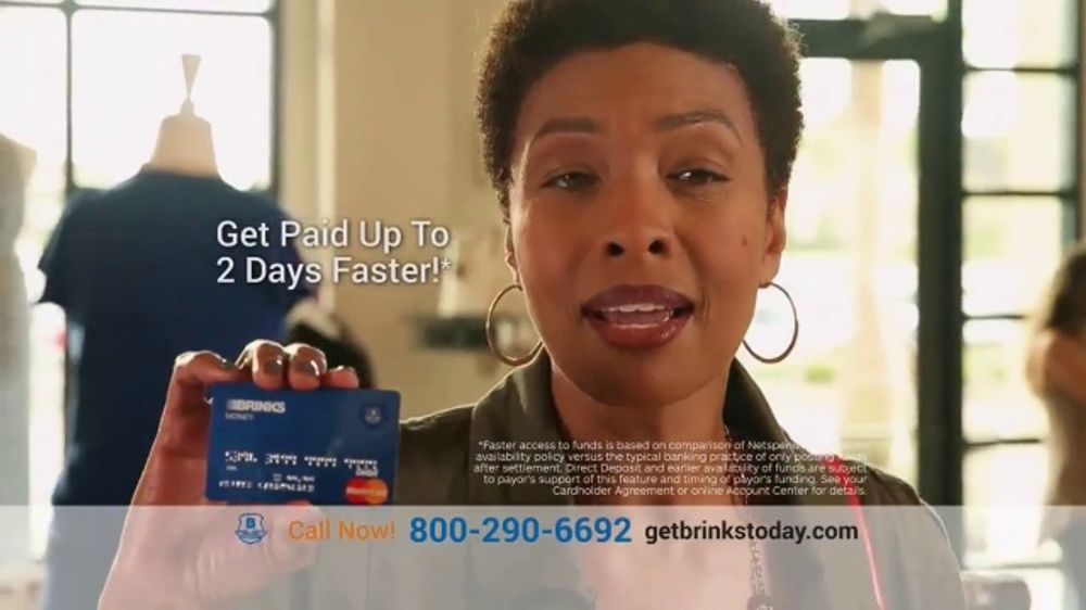 Brink's Prepaid MasterCard TV Commercial, 'Peace of Mind: Savings Account'  - Video