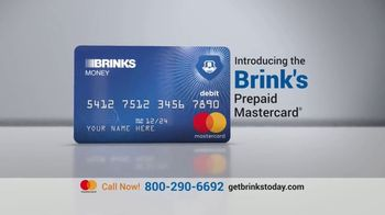 Brink's Prepaid MasterCard TV Spot, 'Peace of Mind: Savings Account'