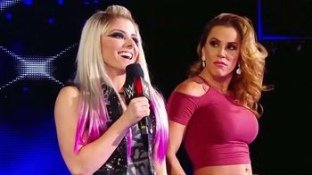 WWE Evolution Pay-Per-View TV Spot, 'Lita & Trish Stratus vs. Alexa Bliss & Mickie James' Song by Little Mix - Thumbnail 1