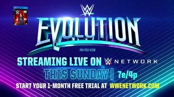 WWE Evolution Pay-Per-View TV Spot, 'Lita & Trish Stratus vs. Alexa Bliss & Mickie James' Song by Little Mix - Thumbnail 10