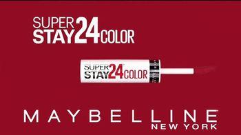 Maybelline New York SuperStay 24 Color TV Spot, 'Supera las pruebas de la vida' [Spanish] - 51 commercial airings